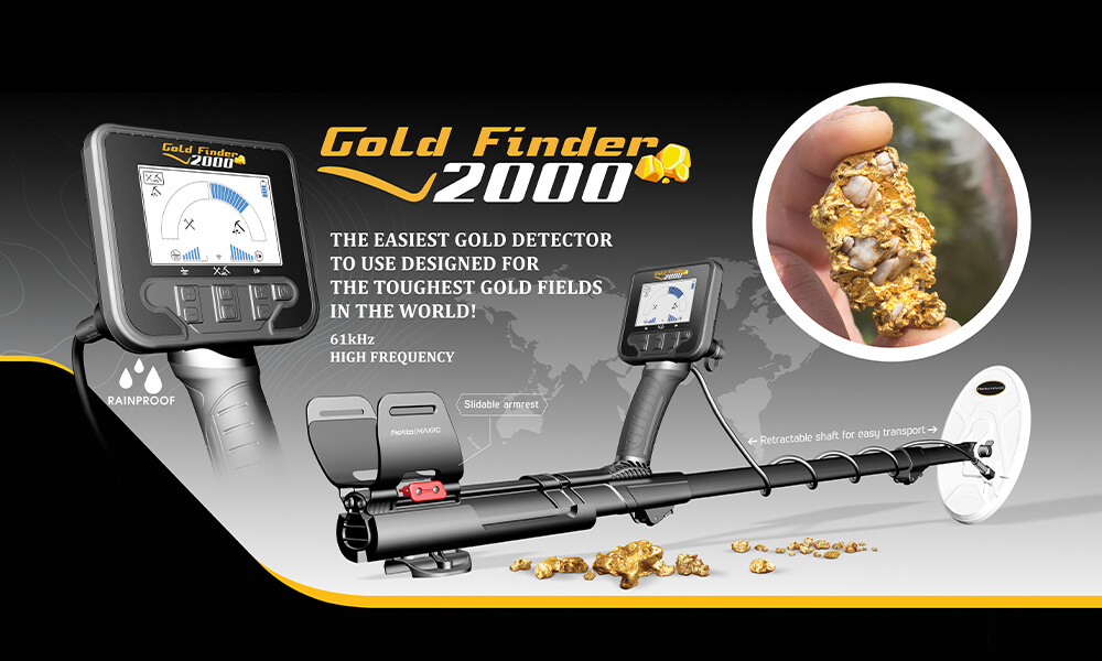 GOLD FINDER 2000 now available in Hong-Kong